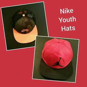 2 Nike Youth Hats!